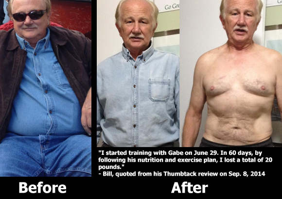 Personal Training Before and After Photos